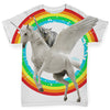 Cat Knight Riding Flying Unicorn Baby Toddler ALL-OVER PRINT Baby T-shirt