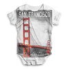San Francisco Golden City Baby Unisex ALL-OVER PRINT Baby Grow Bodysuit