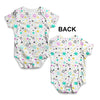 Twinkle Twinkle Litter Stars Baby Unisex ALL-OVER PRINT Baby Grow Bodysuit