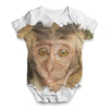 Capuchin Monkey Baby Unisex ALL-OVER PRINT Baby Grow Bodysuit