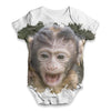 Squirrel Monkey Baby Unisex ALL-OVER PRINT Baby Grow Bodysuit