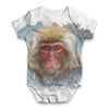Red Faced Spider Monkey Baby Unisex ALL-OVER PRINT Baby Grow Bodysuit