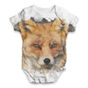 Red Fox Baby Unisex ALL-OVER PRINT Baby Grow Bodysuit