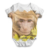Monkey Face Baby Unisex ALL-OVER PRINT Baby Grow Bodysuit