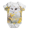 Snowy White Owl Baby Unisex ALL-OVER PRINT Baby Grow Bodysuit