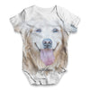 Golden Retriever Baby Unisex ALL-OVER PRINT Baby Grow Bodysuit