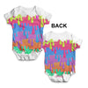Paint Drips Baby Unisex ALL-OVER PRINT Baby Grow Bodysuit