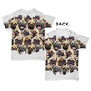 Pugs Puglie Grumblie Baby Toddler ALL-OVER PRINT Baby T-shirt