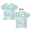 Floral Leaf Pattern Baby Toddler ALL-OVER PRINT Baby T-shirt
