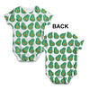 Cute Avocado Baby Unisex ALL-OVER PRINT Baby Grow Bodysuit