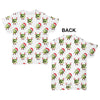 Christmas Sprouts Pattern Baby Toddler ALL-OVER PRINT Baby T-shirt