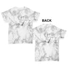 White Marble Pattern Baby Toddler ALL-OVER PRINT Baby T-shirt