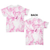 Pink Marble Pattern Baby Toddler ALL-OVER PRINT Baby T-shirt