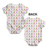Skulls And Bones Pattern Baby Unisex ALL-OVER PRINT Baby Grow Bodysuit