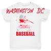Washington DC Baseball Splatter Baby Toddler ALL-OVER PRINT Baby T-shirt