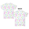 Scribble Thunderbolts Pattern Baby Toddler ALL-OVER PRINT Baby T-shirt