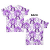 Faces Repeat Pattern Baby Toddler ALL-OVER PRINT Baby T-shirt