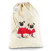 Christmas Pugs Santa Sack Christmas Stocking