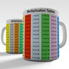 Educational Multiplication Times Novelty Mug