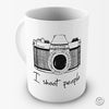 I Shoot People Camera Novelty Mug