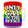 Only Gay In The Office Funny Mug