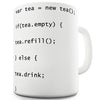 Programmers Tea Code Novelty Mug