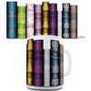 Jane Austen Book Spines Novelty Mug