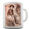 Huckleberry Finn Illustration Novelty Mug