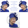 Celebrate Queen Elizabeth II 90th Birthday Novelty Mug