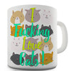 I F-cking Love Cats! Novelty Mug