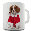 Christmas King Charles Spaniel Novelty Mug