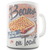 Retro Beans On Toast Ceramic Mug