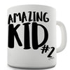 Amazing Kid Number 2 Funny Mug