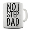 Number 1 Step Dad Ceramic Mug