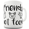 Animal Friends Not Food Ceramic Mug
