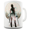 The Warrior Princess Novelty Mug