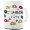 Scrunchie Gang Funny Mugs For Work