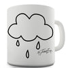 Rain Cloud Pocket Funny Mugs For Work