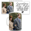 Royal Baby Harry And Meghan Funny Mugs For Men Rude