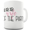 Wife Of The Party Personalised Funny Mugs For Dad