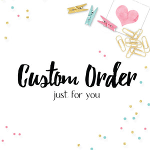 Custom Order for Janelle-Planner Stickers by Mum and Me Handmade Designs - An Australian Online Stationery, Planner Stickers and Card Shop