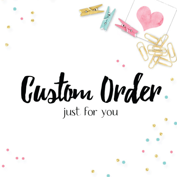 Custom Order for Denise Greeting Card by mumandmehandmadedesigns- An Australian Online Stationery and Card Shop