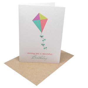 Kite Greeting Card by mumandmehandmadedesigns- An Australian Online Stationery and Card Shop