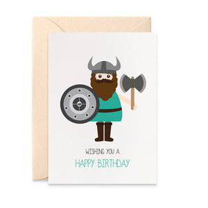 Viking Greeting Card by mumandmehandmadedesigns- An Australian Online Stationery and Card Shop