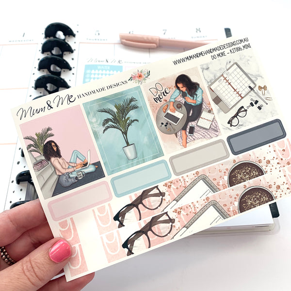 Mini Kit: Do More-Planner Stickers by Mum and Me Handmade Designs - An Australian Online Stationery, Planner Stickers and Card Shop