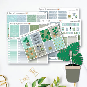 Weekly Kit - Plant Lover-Planner Stickers by Mum and Me Handmade Designs - An Australian Online Stationery, Planner Stickers and Card Shop