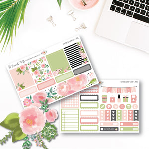 Mini Kit - Watercolour Bloom-Planner Stickers by Mum and Me Handmade Designs - An Australian Online Stationery, Planner Stickers and Card Shop