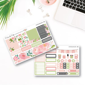 Mini Kit - Watercolour Bloom Planner Stickers by mumandmehandmadedesigns- An Australian Online Stationery and Card Shop