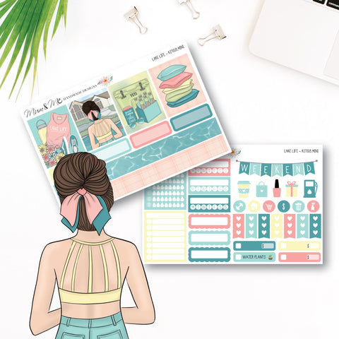 Mini Kit: Lake Life-Planner Stickers by Mum and Me Handmade Designs - An Australian Online Stationery, Planner Stickers and Card Shop