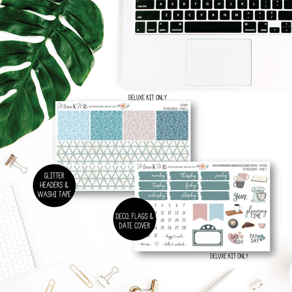 Weekly Kit: So Delicious-Planner Stickers by Mum and Me Handmade Designs - An Australian Online Stationery, Planner Stickers and Card Shop